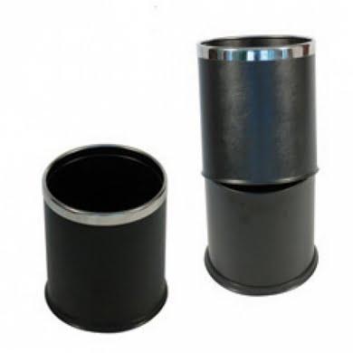 Ruslafata plast með krómkanti 10 L