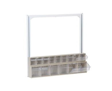 Upphengilausnir fyrir Barton plastbox