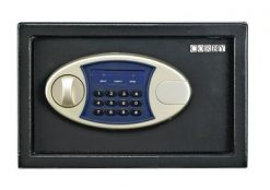 Corby Black Compact Safe